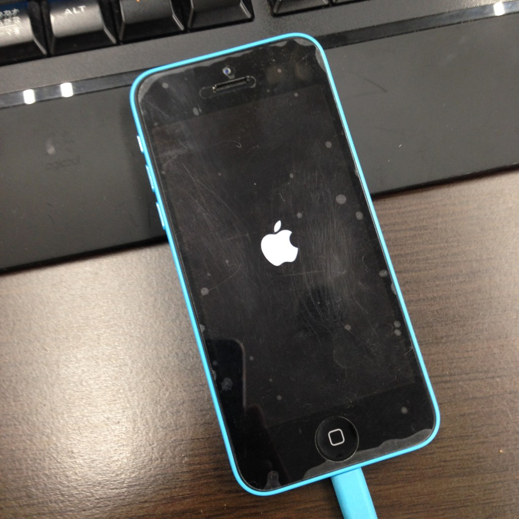 iPhone脱獄失敗…起動ループからの復帰