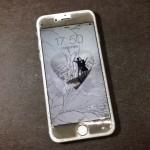 【iPhone6】フロントガラス破損 奈良県葛城市T様