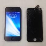 【iPhone5・ゴリラガラス割れ】 フロントパネル修理・奈良県奈良市N様
