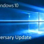 【大型アップデート】Windows 10 Anniversary Updateが来た!