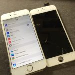【iPhone5s】落下で画面が真っ黒→液晶交換【大阪府柏原市M様】