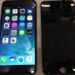 【iPhone 6s Plus】液晶パネル割れ修理【奈良県橿原市 Kさま】