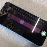 【iPhone5c】液晶パネル大破→タッチも効かず…【奈良県香芝市N様】